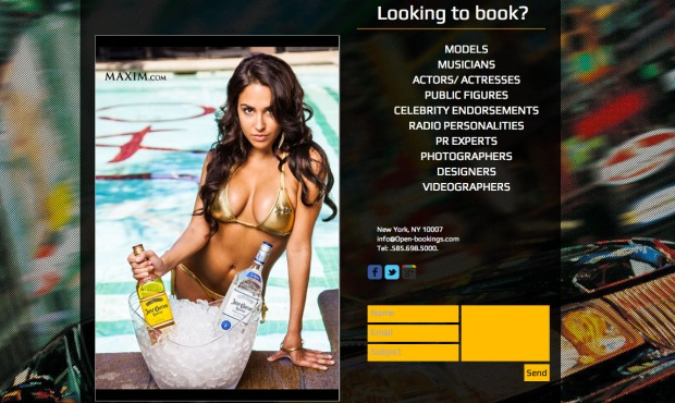 Open Bookings Entertainment