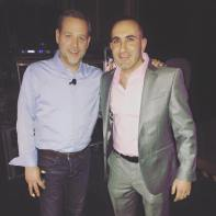 Business Loaners' CEO Eli Gold on the right and Quicken Loans President Jay Farner